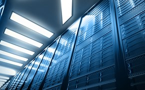 Racks im Datacenter